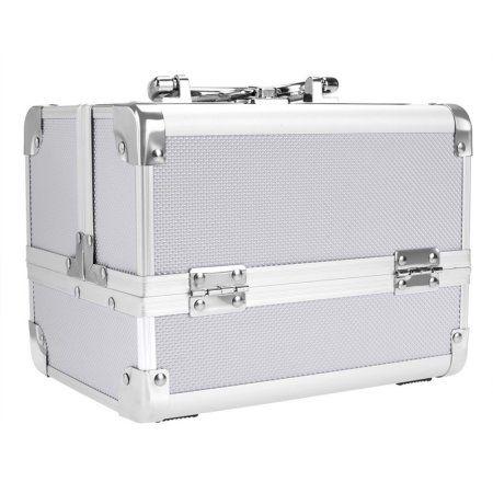 Free Shipping. Buy Fashion Makeup Travel Case Jewelry Box Lockable Cosmetic Organizer Holder at Walmart.com