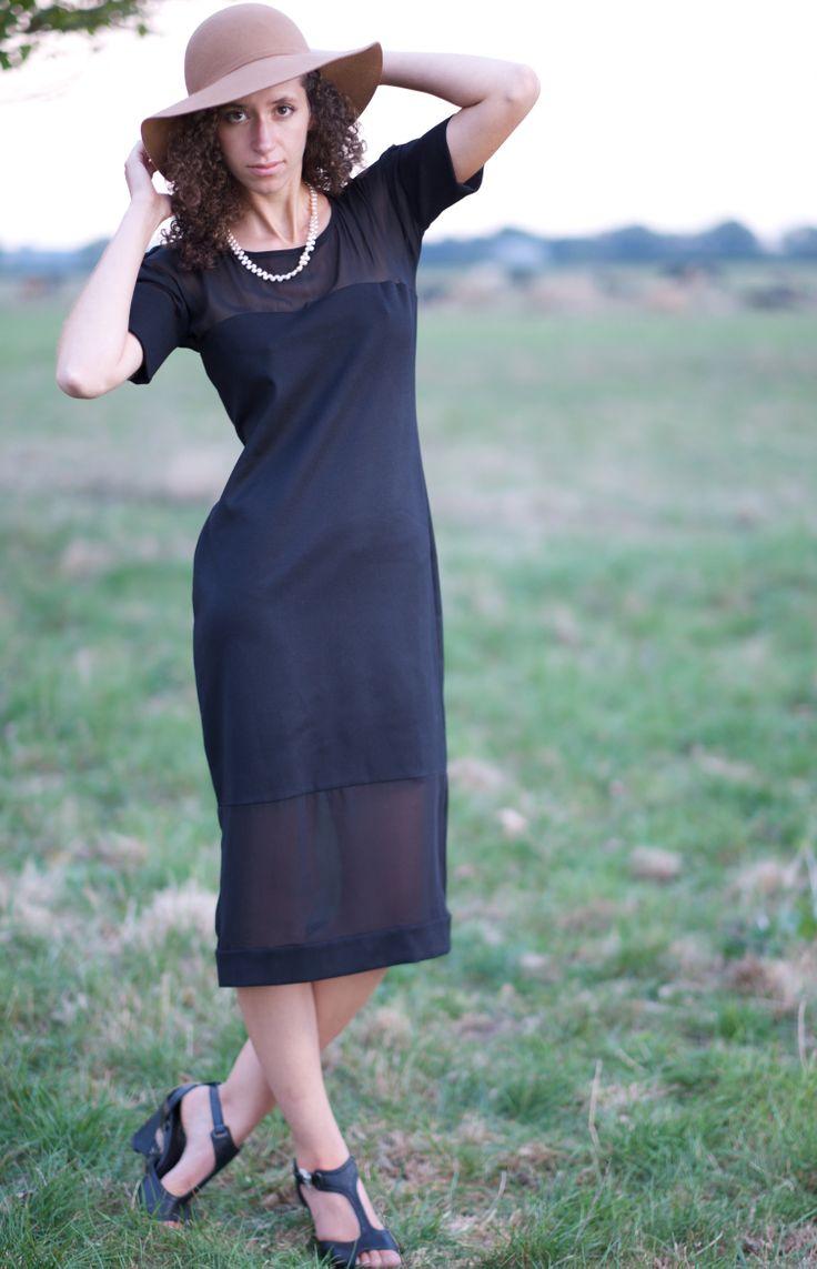 OPAQUE DRESS Colour: Black www.beau.co.nz