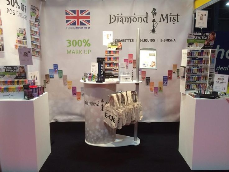 Diamond Mist exhibiting at Better Retailing Live, Manchester. 5th - 6th October 2014.