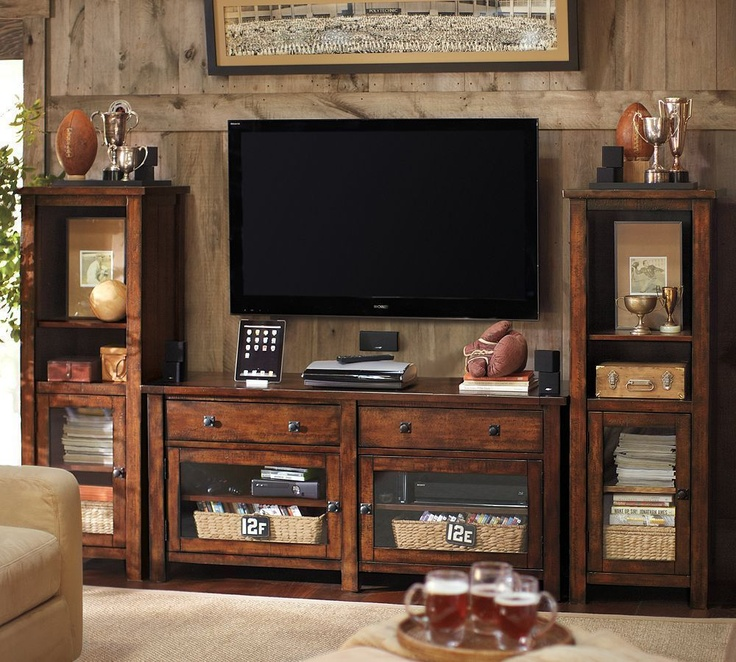 Benchwright Media Suite With Towers