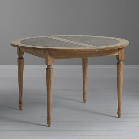 Buy John Lewis Belmont 6-Seater Round Extending Dining Table Online at johnlewis.com