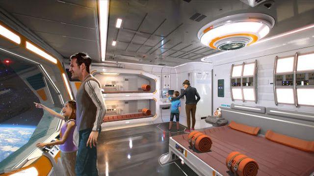 Un Hotel Interactivo de Disney permite a los aficionados al Universo de Star Wars convertirte en  ciudadanos de la Galaxia