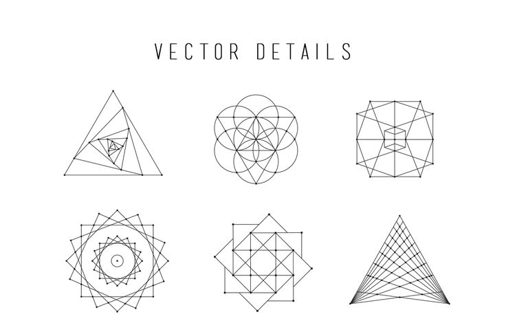 sacred geometry business card - Google Search