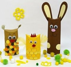 Tipy na velikonoční tvoření s dětmi
