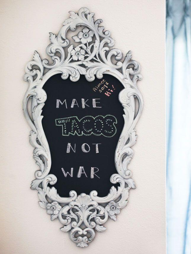 Chalk It Up: 40 Creative Ways to Use Chalkboard Paint via Brit + Co.