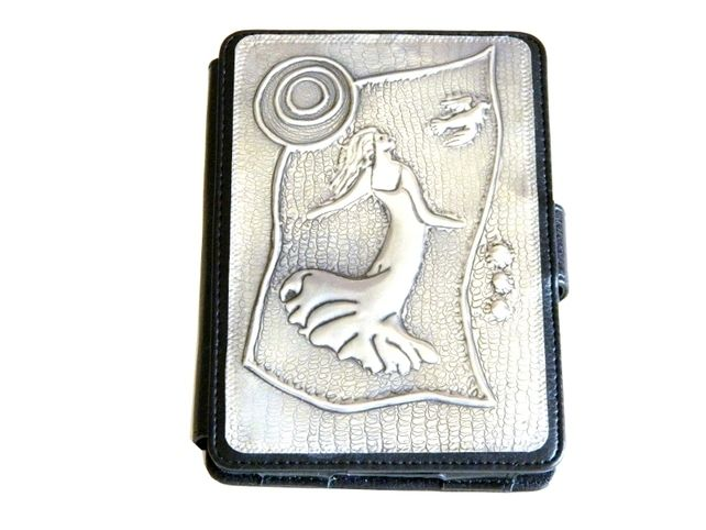 Kindle case leather and pewter Dancing in the Moonlight £35.00