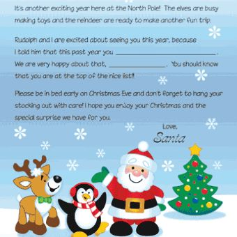 10 best letters from santa images on pinterest letter from santa from santa and his friends free christmas recipes coloring pages for kids santa printable letters spiritdancerdesigns Gallery