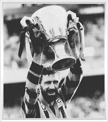 1986, Hawthorn 16.14 (110) d Carlton 9.14 (68).    Coach: Allan Jeans  Captain: Michael Tuck