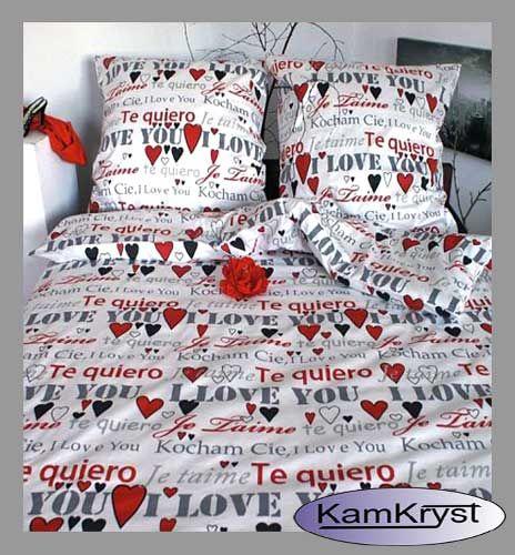 Najnowsze wzory z kolekcji pościel satynowa w naszym sklepie - 100% satyna bawełniana pościel dla zakochanych.