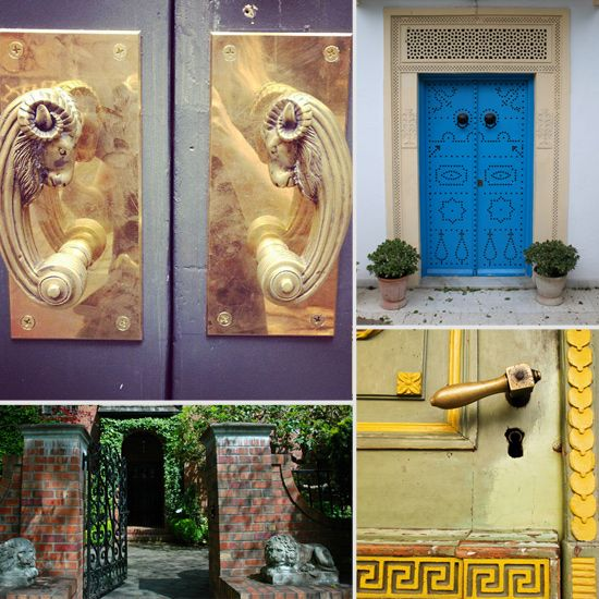 Now This Is How to Make an Entrance: 50 Ways to Wow With Your Front Door - www.casasugar.com