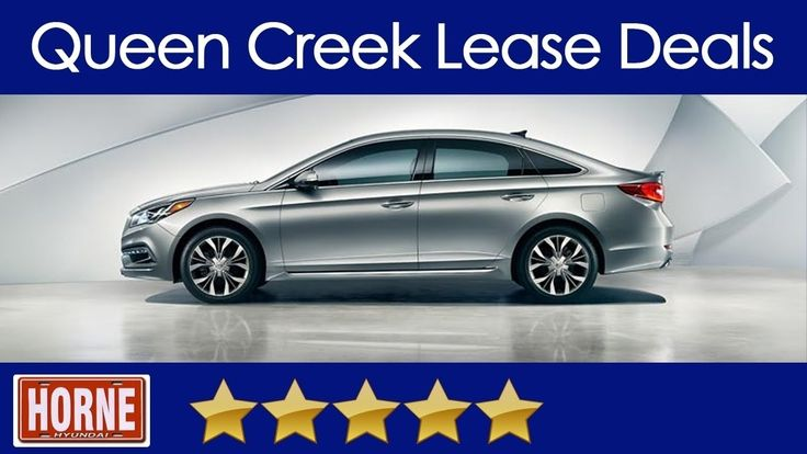 Queen Creek Auto Lease Deals - Horne Hyundai (888) 692-2448