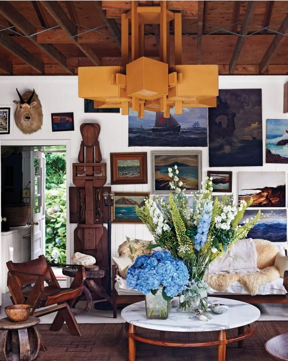 And the Living Is Easy: Inside a Laid-Back Montauk Weekend Retreat - Martha Stewart Home & Garden