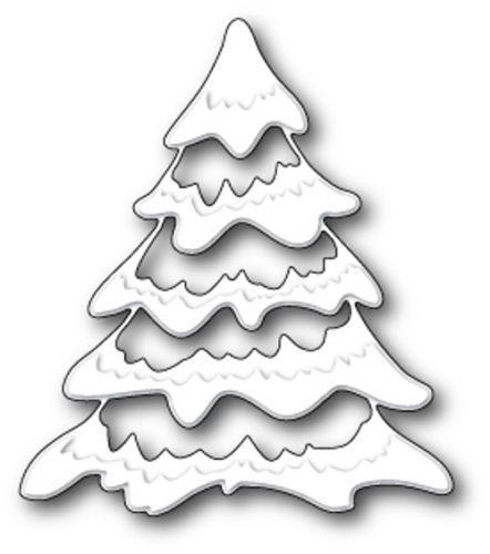 Memory-Box-Die-Snowy-Tree-99013-NEU-2014-Weihnachten-Tanne-Tannenbaum