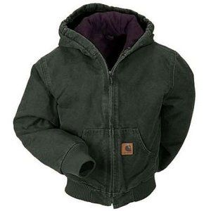 Carhartt Sandstone Active Quilted Flannel Lined Jacket Profile Photo: Profile Photo