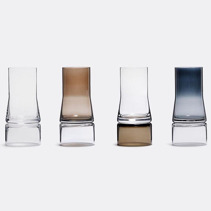 Rhapsody in bloom. A geometric symphony of enchanting vases. 2in1 vases designed by Joe Colombo for lyngbyporcelain via store.wallpaper- designer, love