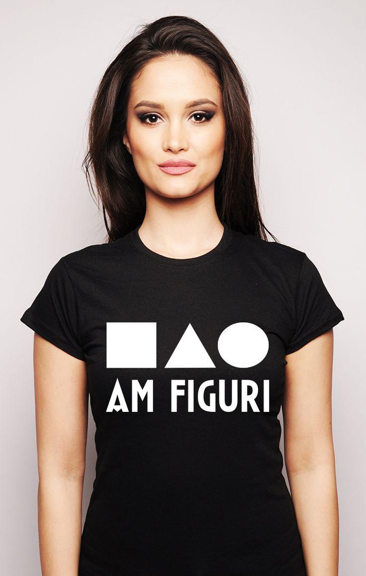 """Tricou #ruvix pentru cei """"figuroși"""".  Vizitați aici -> http://ruvix.ro/produs/tricou-am-figuri/"""