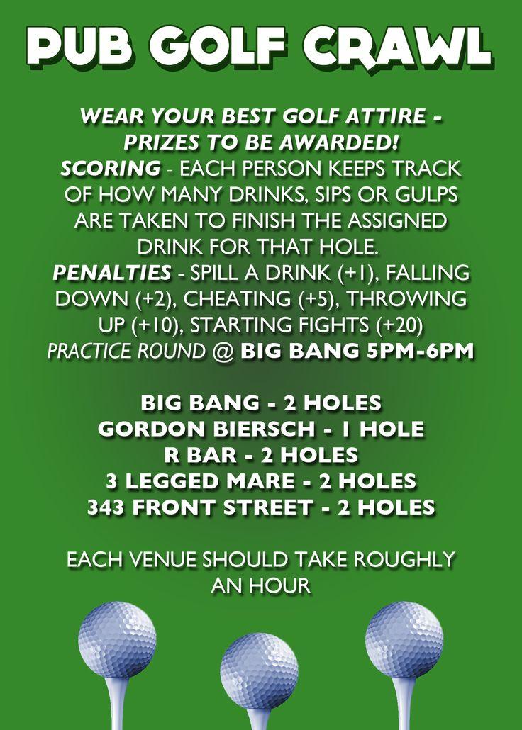 Pub Golf Back - Hotcard3
