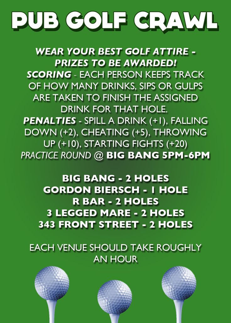 Pub Golf Back - Hotcard3