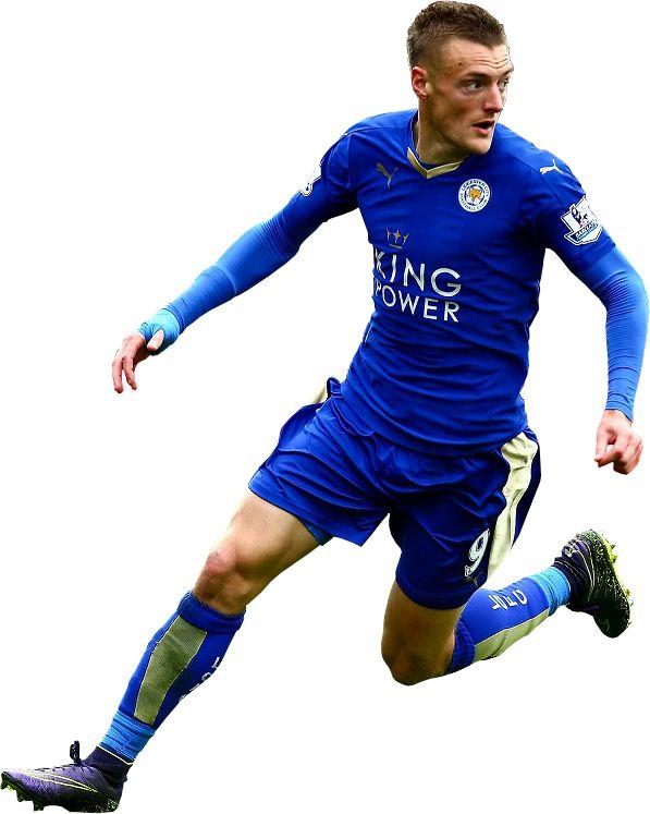 Jamie Vardy Leicester City Football club transparent image