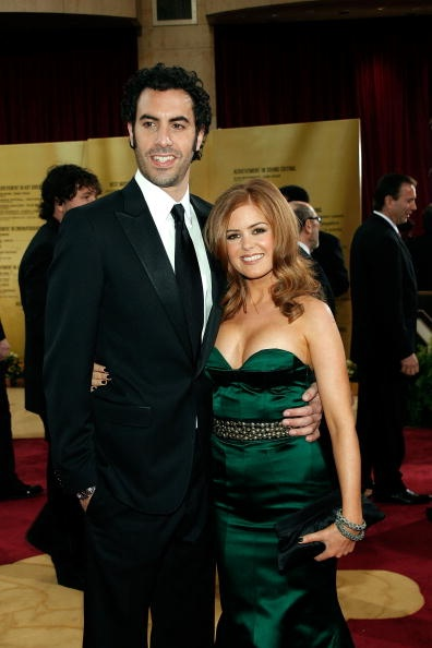 Sasha Baron Cohen & Isla Fisher -  Celebrity Couples Who Shocked Everyone When They Eloped! © Getty