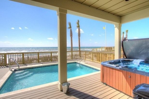 6 bedroom house rental in panama city, florida, usa - beachfront