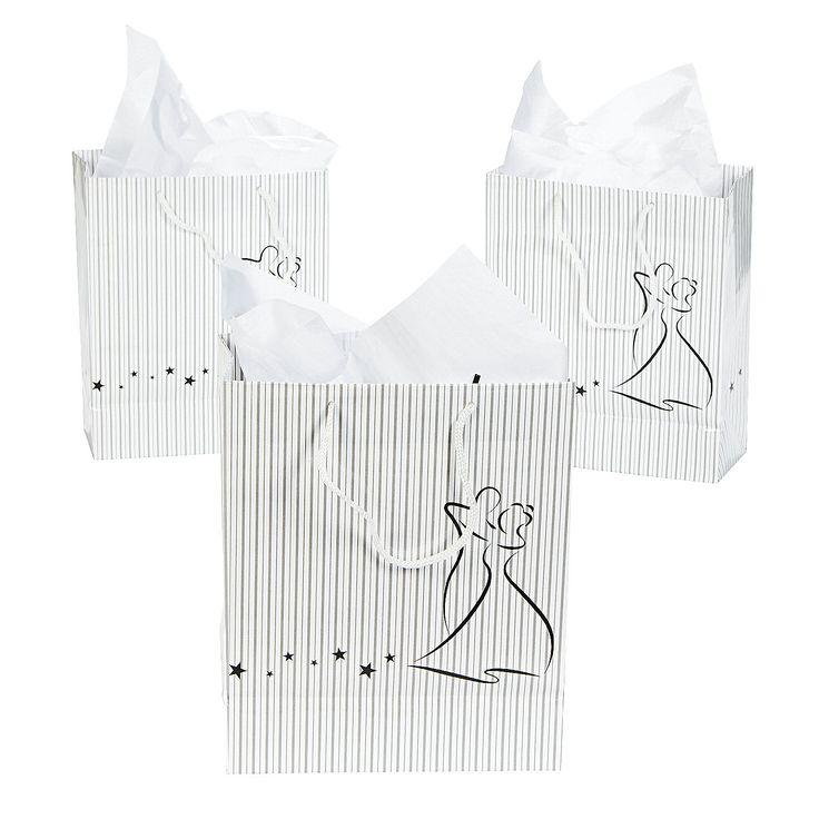 Medium Prom Couple Gift Bags - OrientalTrading.com