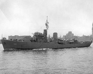 USS Alacrity (PG-87) Action-class patrol boat acquired by the U.S Navy for the task of patrolling American Coastal waters during WWII.