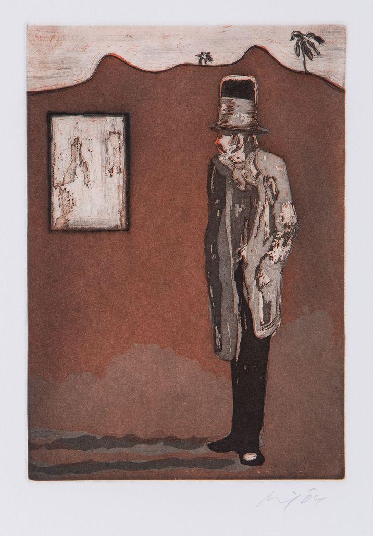 Peter Doig - Haus der Bilder, 2004, etching.