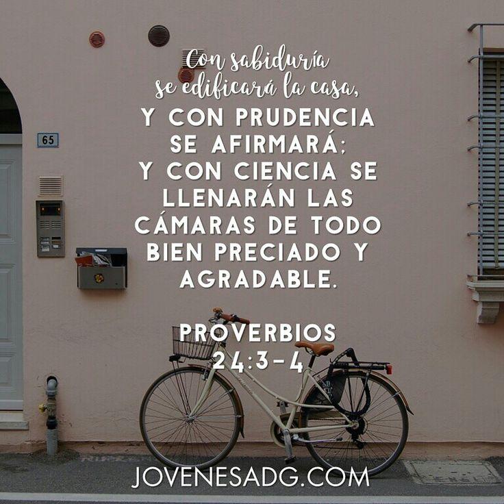 CAMINANDO EN SABIDURÍA / Semana 6 - Viernes  LECTURA Proverbios 24:3-6 DEVOCIONAL Proverbios 24:3-4  #JovenesADG #ComunidadADG #CaminandoenSabiduria #Sabiduría #Proverbios #EstudiosBiblicosparaJovenes #AmaaDiosGrandemente