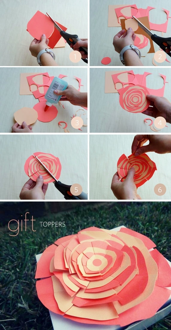 DIY: gift toppers