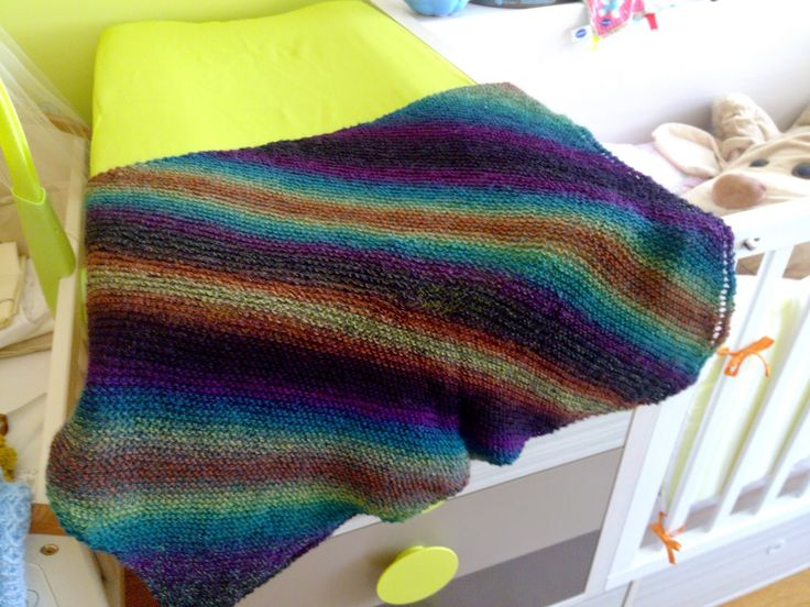 The Anarchist Knitter: Sock Yarn Baby Blanket - Free Knitting Pattern