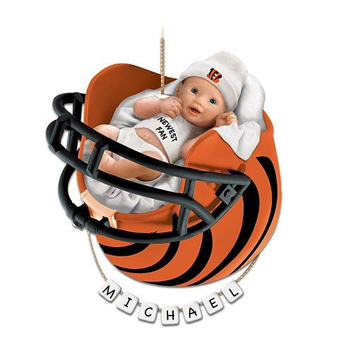 22 best jennifer and juan baby gift ideas images on pinterest cincinnati bengals personalized babys first christmas ornament by the bradford exchange bradford exchangehttp negle Image collections