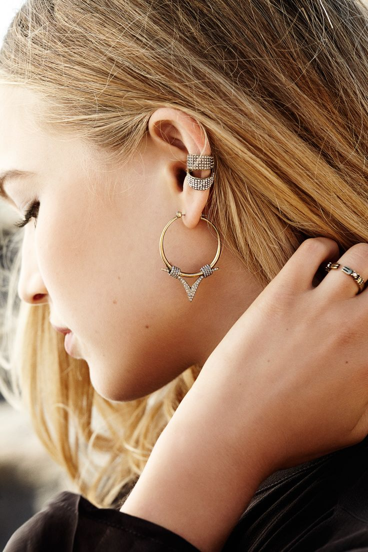 The Popular Mr Kate Ear Cuffs Get A New Glamorous Addition! The Treasure  Ear