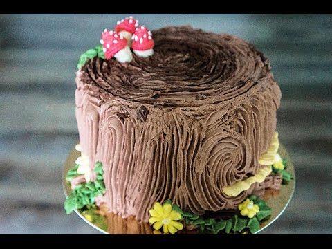 Сделать торт в виде пенька