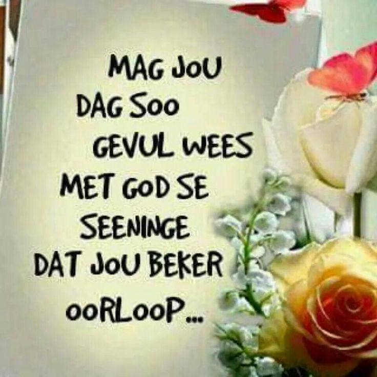 Good Morning Everyone In Afrikaans : Best images about good morning on pinterest