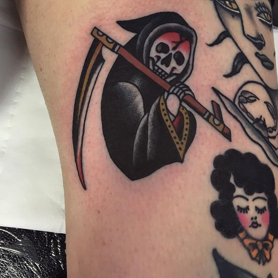 Old School Tattoos – See the newest tattoo design ideas #OldSchoolTattoo #OldSch…  – ink