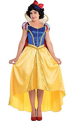 Adult Snow White Costume Couture - Snow White and the Seven Dwarfs @ Party City
