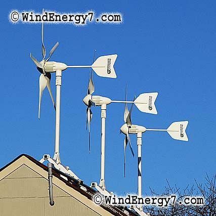 Rooftop wind turbine