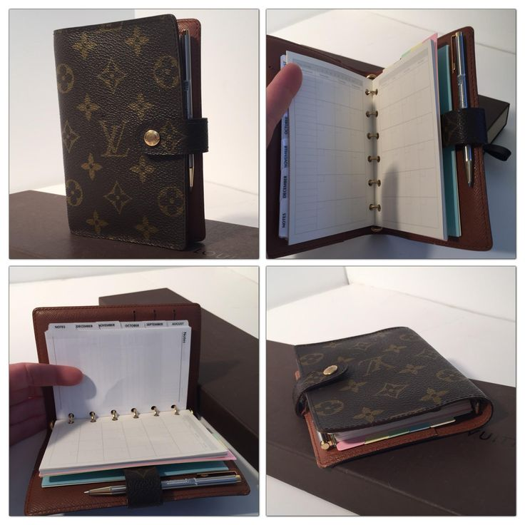 Louis Vuitton Monogram Agenda PM Organizer + 2017 Refill Inserts. Free shipping and guaranteed authenticity on Louis Vuitton Monogram Agenda PM Organizer + 2017 Refill InsertsAuthentic Louis Vuitton Monogram Planner 6 Ring Ag...
