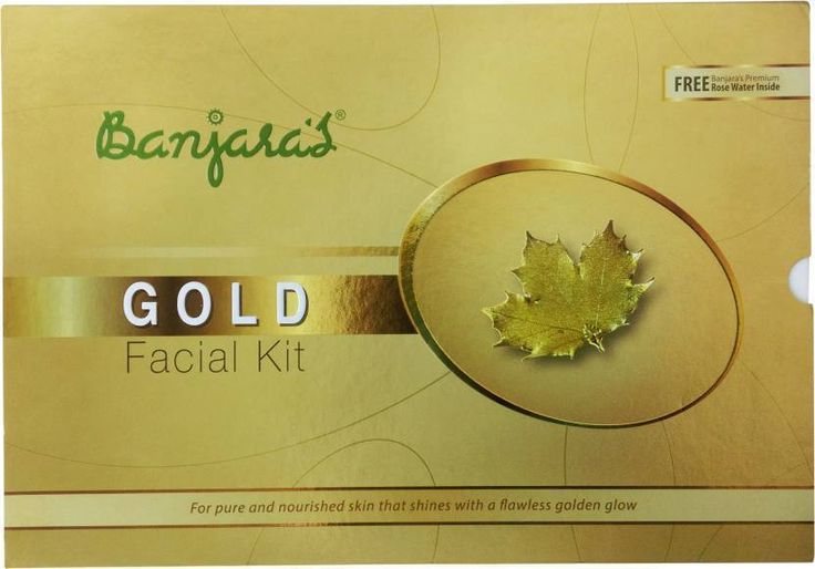 Banjara's Gold Facial Kit Dark Spots Pigmentation Cream Radiant Golden Glow Face #Banjaras