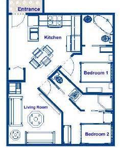 New Ricochet Small House Floor Plan Under 500 Sq Ft
