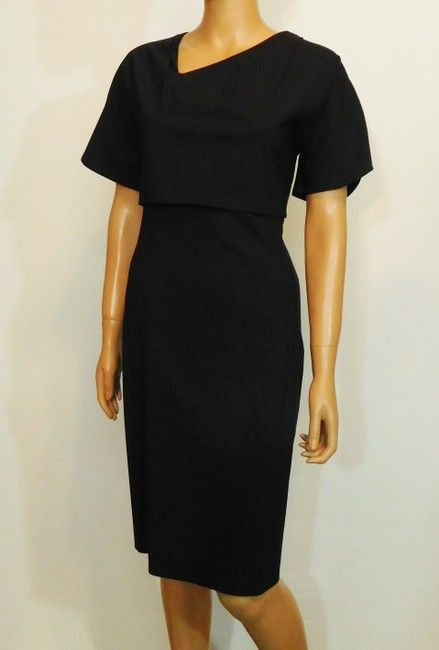 8eaf714076c Boss by Hugo Boss Black New Layered Bodice Sheath Short Work Office Dress  Size 4 (S). Free shipping and guaranteed authenticity on Boss by Hugo Boss  Black ...