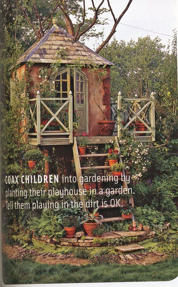 17 Best ideas about Garden Playhouse on Pinterest Simple