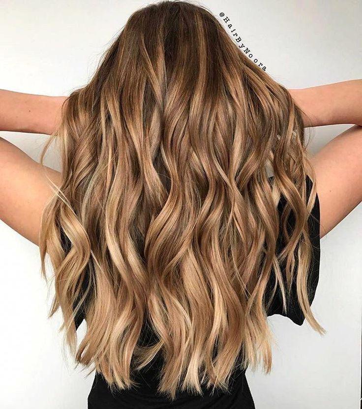 highlighted brunette hair #HairHighlightsIdeas