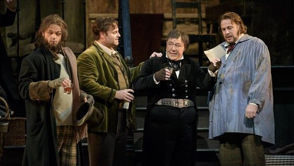 LA BOHEME_The Royal Opera; MIMI ; ANNA NETREBKO, RODOLFO; JOSEPH ...