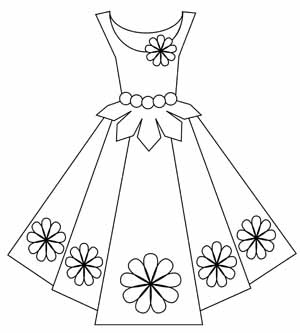 free dress digital stamp set