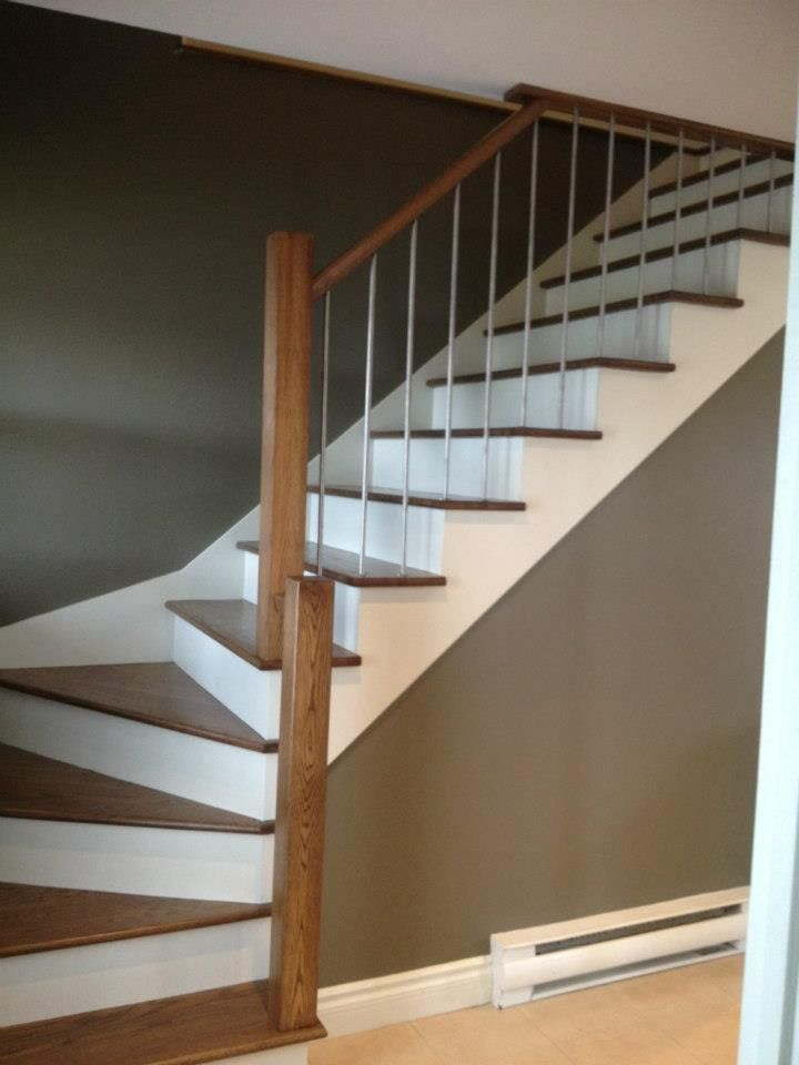 25 best ideas about rampes d escalier on pinterest rampes rampe d 39 escalier and conception d for Rampe moderne d escalier