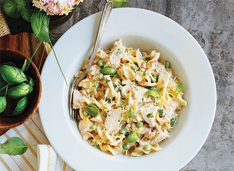 One-Pot Chicken Tetrazzini