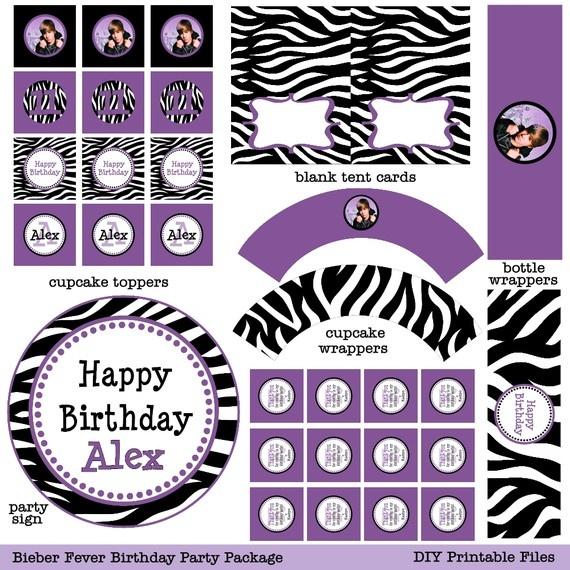 15 best ZebraPurple Kids Party images on Pinterest Birthday party