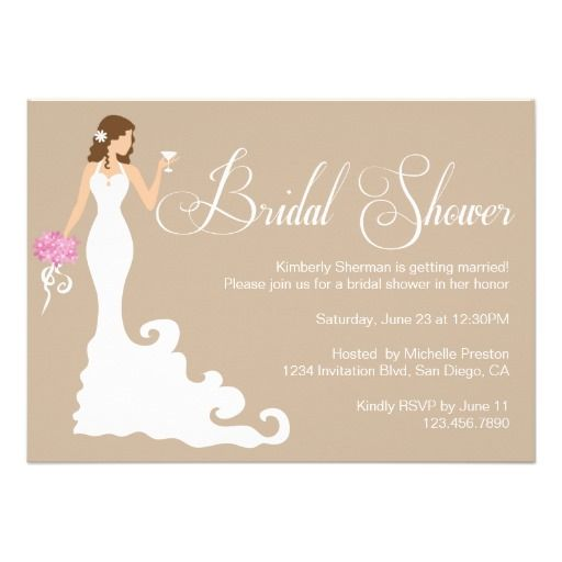 20 best Bridal Shower Invitation Template images on Pinterest ...